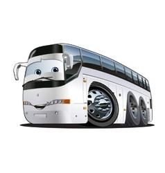 Cartoon Tourist Bus vector image vector image
