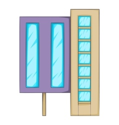 Elevator icon cartoon style vector