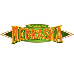 Nebraska the cornhusker state vector