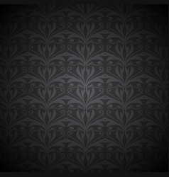 Ornate floral background vector