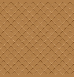 rhombuses brown seamless background vector image vector image