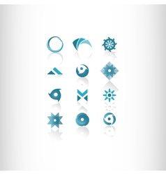Symbol elements set for web design vector