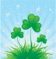 Patrick spring background vector