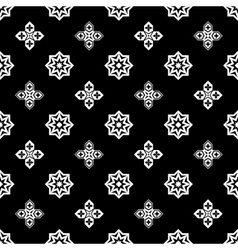 Ornamental islamic pattern vector image