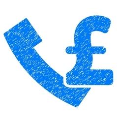 Pound payphone grainy texture icon vector