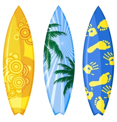 surfboard vector image vector image