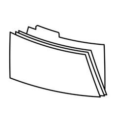 File folder icon image vector