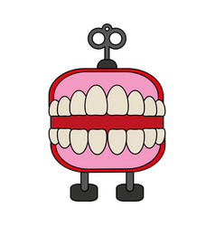 funny toy icon image vector image