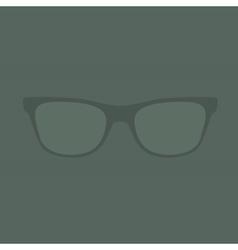 glasses Retro Background vector image