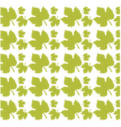 Leave grape seamless pattern design vector