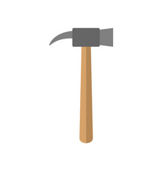 hammer isolated tool on white background vector image