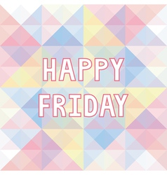 Happy friday background3 vector
