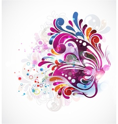 colorful abstract vector image vector image