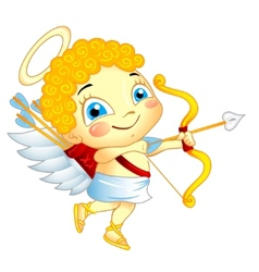 Cute Cupid vector image