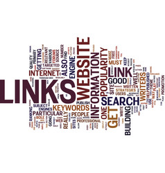Links from articles text background word cloud vector