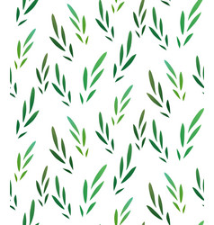 Seamless texture with little green leaves for vector
