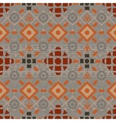 Tribal art boho seamless pattern vector