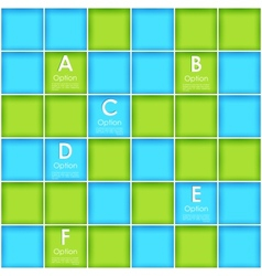 Block background for infographics vector
