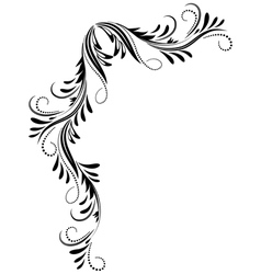 Corner Ornament vector image vector image