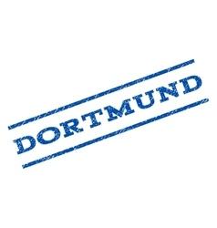 Dortmund watermark stamp vector