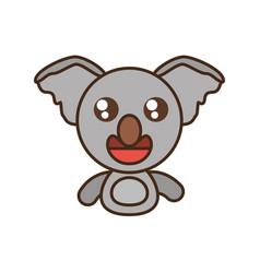 koala baby animal kawaii design vector image