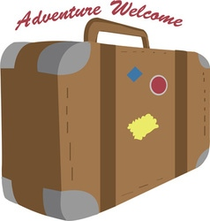 Adventure welcome vector