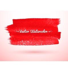 Brush stroke banner vector image
