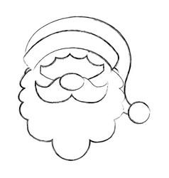 christmas santa claus vector image vector image