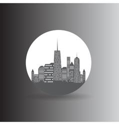 City Icon vector image