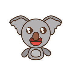 koala baby animal kawaii design vector image
