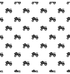 Machinery with sand pattern simple style vector