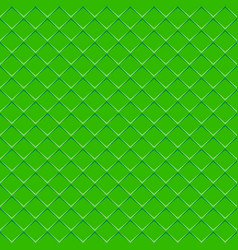 rhombuses green seamless background vector image vector image