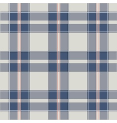 seamless retro squared fabric vector image vector image