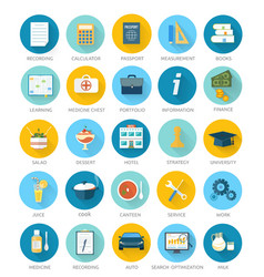 Set for web and mobile applications vector image