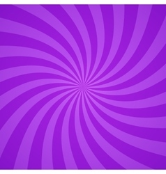 Swirling radial purple pattern background vector