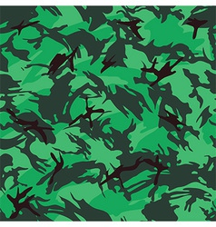 British woods camouflage seamless pattern vector image