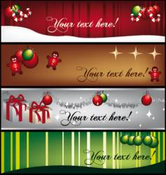 Greeting-banners vector