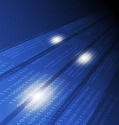 digital technology concept background vector image