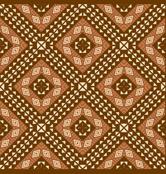 african textile background seamless pattern vector image vector image