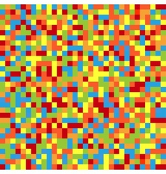 Colorful pixelated background vector