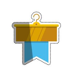 fashion hanger symbol vector image