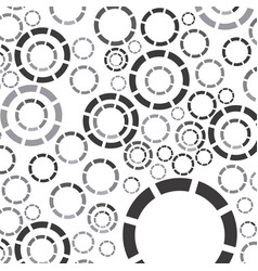 gray bubbles background icon vector image vector image