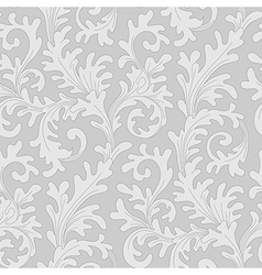 pattern baroque vector image vector image