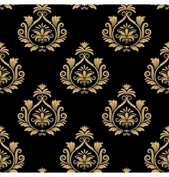 Seamless baroque background vector image vector image