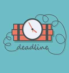 Time bomb with wire as deadline vector