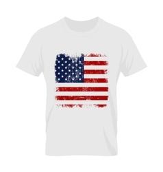 t-shirt emblem and logo concept mock up vector image