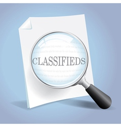 Looking at the classifieds vector