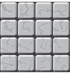 Stone tiles seamless pattern vector