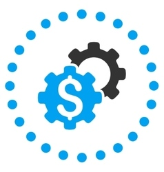 Bank options icon vector