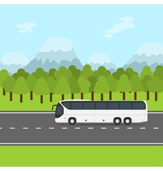 bus trip vector image